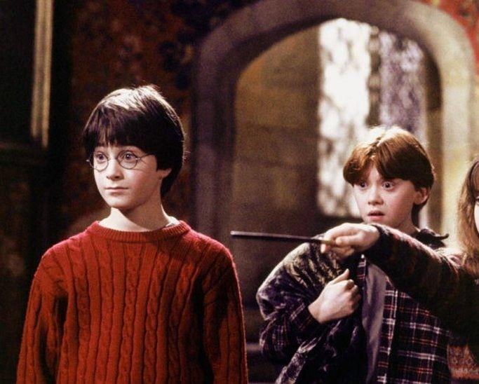 Гарри Поттер и философский камень (2001) смотреть в 4K ... руперт гринт